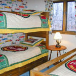 Blue Knob Chalet Bunk Beds Room 1