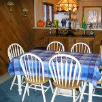 Blue Knob Chalet Dining Area